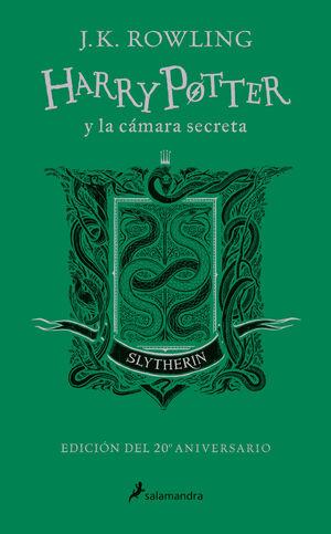 HARRY POTTER Y LA CÁMARA SECRETA (EDICIÓN SLYTHERIN DEL 20º ANIVERSARIO)