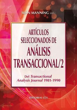 ARTÍCULOS SELECCIONADOS DE ANÁLISIS TRANSACCIONAL/2