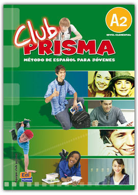 CLUB PRISMA A2 NIVEL ELEMENTAL LIBRO DEL ALUMNO + CD