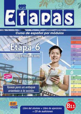 ETAPAS 6 B1.1 LIBRO DEL ALUMNO + EJERCICIOS + CD