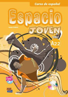 ESPACIO JOVEN A2.2 ALUMNO +CD