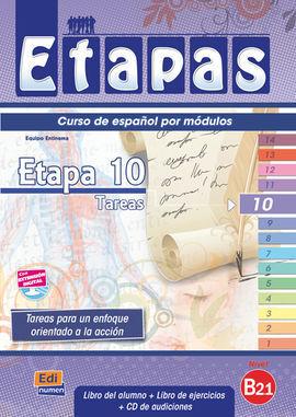 ETAPAS 10 B2.1 LIBRO DEL ALUMNO + EJERCICIOS + CD