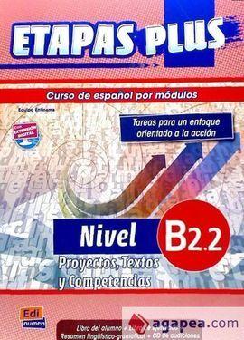 ETAPAS PLUS B2.2 ALUMNO+CD