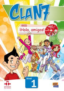 CLAN 7 LIBRO DEL ALUMNO Y CD