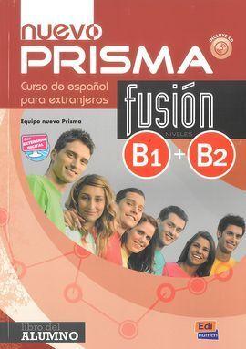 NUEVO PRISMA FUSION B1 B2 LIBRO DEL ALUMNO