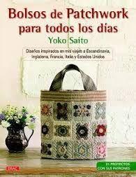 BOLSOS DE PATCHWORK PARA TODOS LOS DÍAS