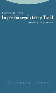 LA PASIÓN SEGÚN GEORG TRAKL