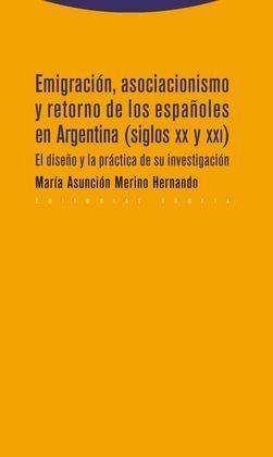 EMIGRACION ASOCIACIONISMO Y RETORNO ESPAÑOLES EN ARGENTINA