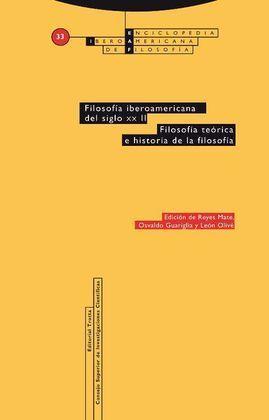 FILOSOFÍA IBEROAMERICANA DEL SIGLO XX TOMO II VOL. 33