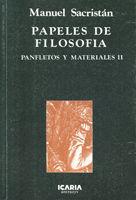 PAPELES DE FILOSOFIA
