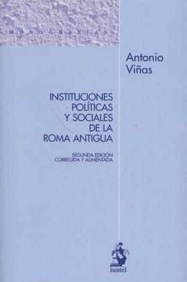 INSTITUCIONES POLÍTICAS Y SOCIALES DE LA ROMA ANTÍ