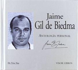 JAIME GIL DE BIEDMA. ANTOLOGÍA PERSONAL