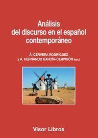 ANALISIS DEL DISCURSO EN EL ESPAÑOL CONTEMPORANEO