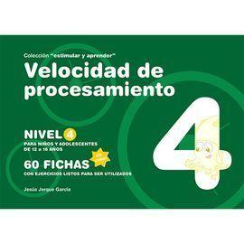 VELOCIDAD DE PROCESAMIENTO, NIVEL 4