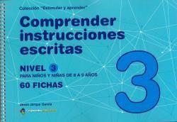 COMPRENDER INSTRUCCIONES ESCRITAS - NIVEL 3