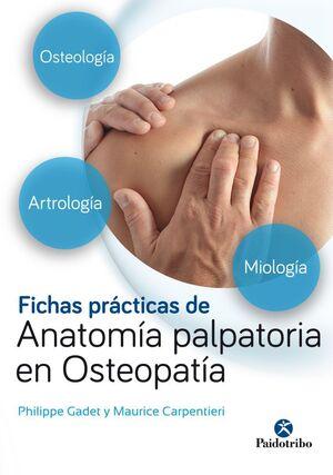 FICHAS PRACTICAS DE ANATOMIA PALPATORIA EN OSTEOPATIA