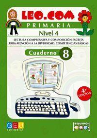 LEO.COM PRIMARIA NIVEL 4 CUADERNO 8