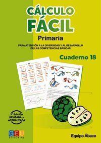 (N).18.CALCULO FACIL.(3ªEDICION) PRIMARIA