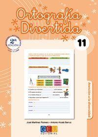ORTOGRAFÍA DIVERTIDA 11