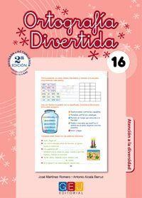 ORTOGRAFIA DIVERTIDA 16