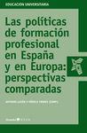 LAS POLITICAS DE FORMACION PROFESIONAL EN ESPAÑA Y EN EUROPA: PER