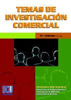 TEMAS DE INVESTIGACIÓN COMERCIAL (5ª EDICIÓN)