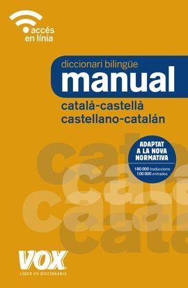 DICCIONARI MANUAL CATALÀ-CASTELLA/CASTELLANO-CATALÁN