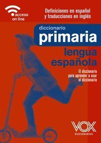 DICCIONARIO DE PRIMARIA