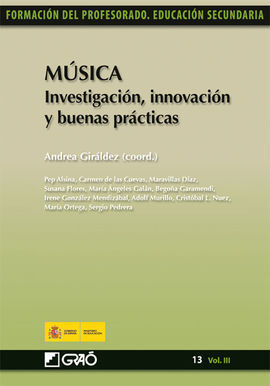 MÚSICA. INVESTIGACIÓN, INNOVACIÓN Y BUENAS PRÁCTIC
