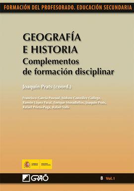 GEOGRAFIA E HISTORIA COMPLEMENTOS DE FORMACION DISCIPLINAR