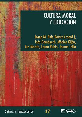 CULTURA MORAL Y EDUCACIÓN