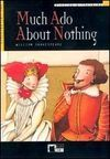 MUCH ADO ABOUT NOTHING. BOOK  + CD