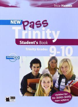 NEW PASS TRINITY STUDENT´S BOOK ( TRINITY GRADES 9-10 )  *** BLACK CAT