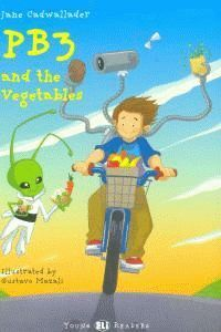 PB3 AND THE VEGETABLES +CD A1 STAGE 2 YOUNG READERS