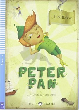 PETER PAN +CD A1.1 STAGE 3 YOUNG READERS