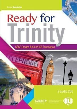 READY FOR TRINITY GESE GRADES 3-4 AND ISE FOUNDATION + 2 CD