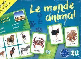 MONDE ANIMAL ELI JEUX A1 A2,LE