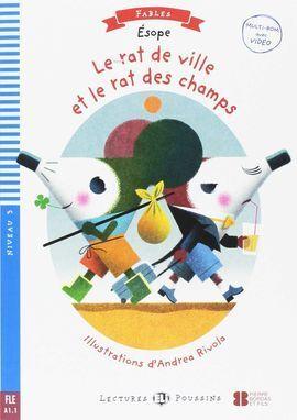 RAT DE VILLE ET LE RAT DE CHAMPS + MULTI-ROM