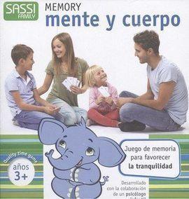 MEMORY MENTE Y CUERPO +3 AÑOS