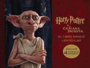 EL LIBRO MÁGICO LENTICULAR DE HARRY POTTER Y LA CÁMARA SECRE