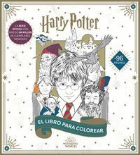 HARRY POTTER LIBRO OFICIAL PARA COLOREAR