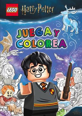 HARRY POTTER LEGO. JUEGA Y COLOREA