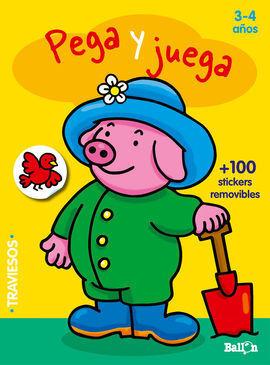PEGA Y JUEGA - CERDITO (3-4 AÑOS)