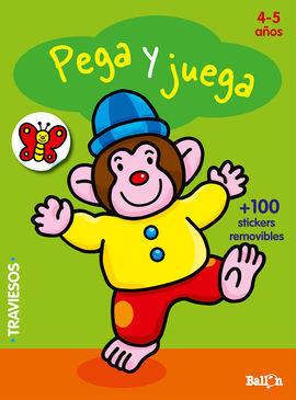 PEGA Y JUEGA - MONO (4-5 AÑOS)