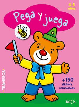 PEGA Y JUEGA - OSITO (4-5 AÑOS)