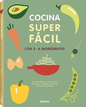 COCINA SUPER FACI. 3-6 INGREDIENTES
