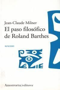 PASO FILOSÓFICO DE ROLAND BARTHES