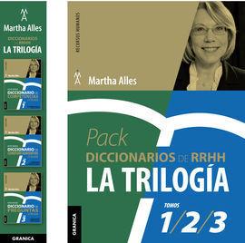 PACK DICCIONARIOS DE RRHH LA TRILOGÍA - TRES VOLÚMENES