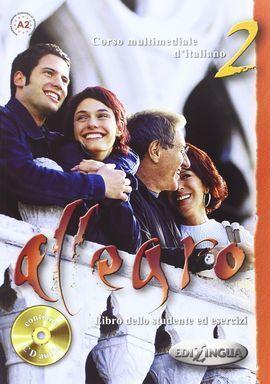 ALLEGRO 2 (+CD) LIBRO DELLO STUDENTE ED ESERCIZI