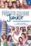 PROGETTO ITALIANO JUNIOR 1 -LIBRO+QUADERNO+CD